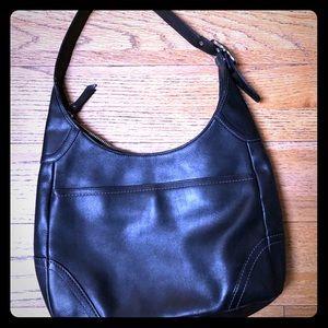 Coach Hamilton Black leather classic shoulder bag